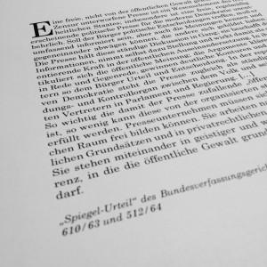 """""""Spiegel-Urteil"""" BVerfG, Bild: Alexander Filipovic"""