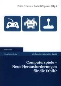 "Buchcover: Grimm/Capurro ""Computerspiele"""